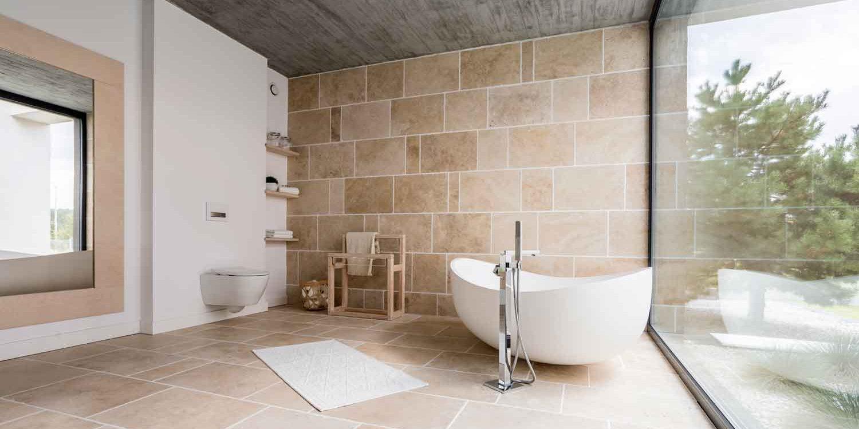 9 Inspirasi Keramik Lantai Dinding Kamar Mandi Minimalis Menawan